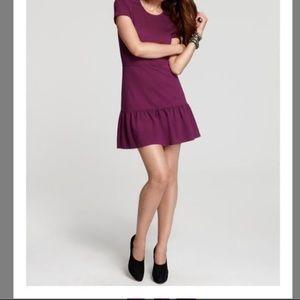 Brand New Juicy Couture Short Sleeve Purple Dress